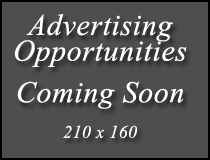 Advertising Opportunities coming soon